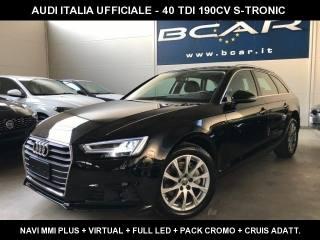AUDI A4 Avant 40 TDI S Tronic +Virtual+Navi+Full Led+
