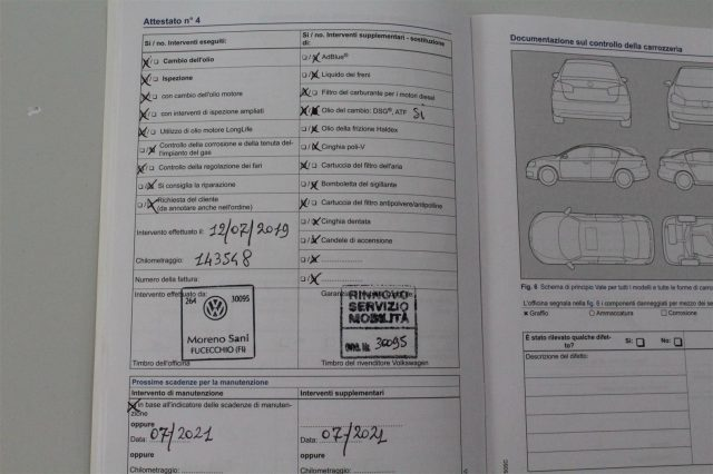 Immagine di VOLKSWAGEN Golf 2.0 TDI DSG 5p. Highline  Tagliandi certificati