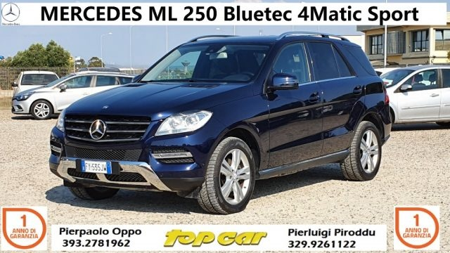 Immagine di MERCEDES-BENZ ML 250 BlueTEC 4Matic Sport