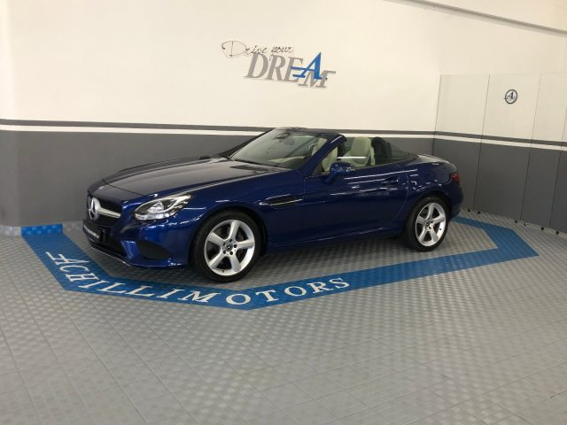 MERCEDES-BENZ SLC 200 Blu metallizzato