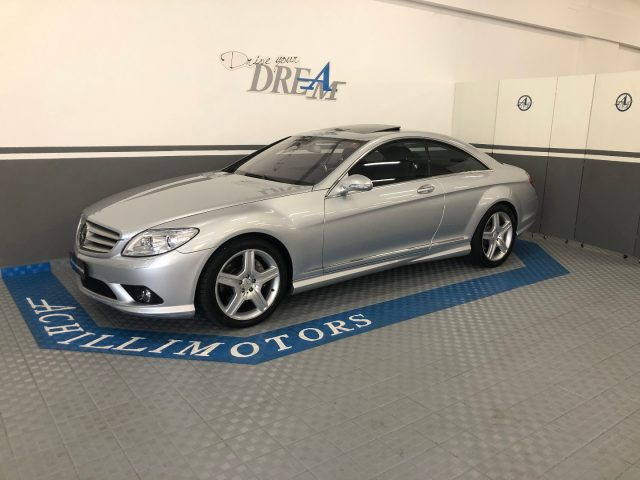 MERCEDES-BENZ CL 500 Argento metallizzato