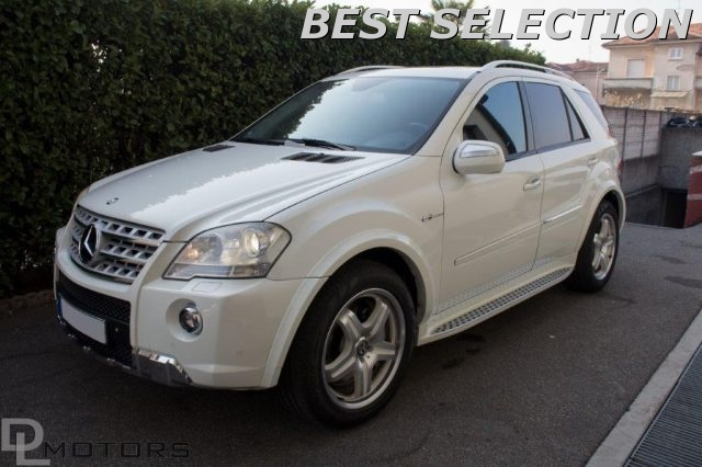 MERCEDES-BENZ ML 63 AMG V-Max TETTO+PELLE+NAVI TOUCH+RETROCAMERA FULL!!!