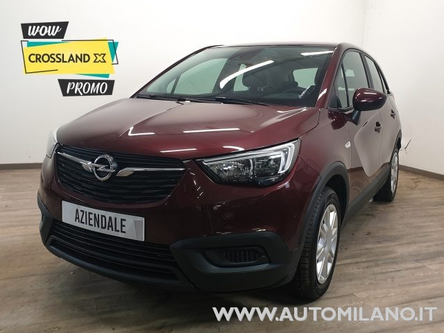 OPEL Crossland X Bordeaux metallizzato