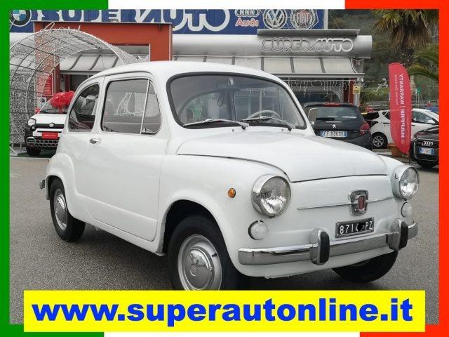 OLDTIMER Fiat 600 D.  quot;LIBRETTO ORIGINALE quot;