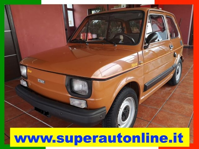 FIAT 126 PERSONAL 4 TARGHE E LIBRETTO ORIGINALE