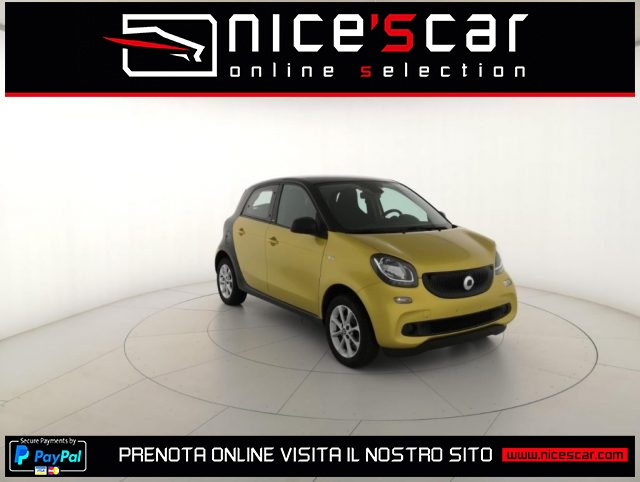 SMART ForFour Oro metallizzato