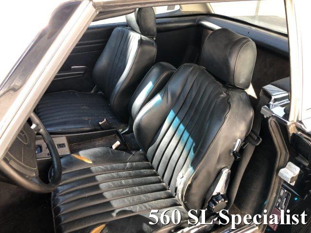 Immagine di MERCEDES-BENZ SL 560 PROJECT CAR DA RESTAURARE NERO PELLE NERA