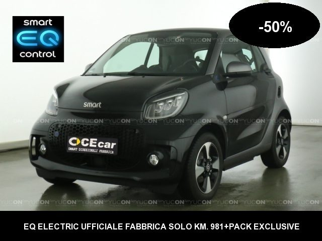 SMART ForTwo 0.0 EQ Passion-50% DAL NUOVO KM.981+PACK EXCLUSIVE