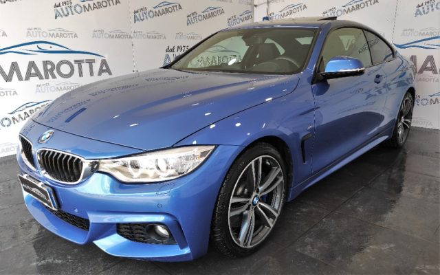 BMW 425 d Coupé Msport AUT TETTO HEAD-UP DISPLAY TAGLIANDA