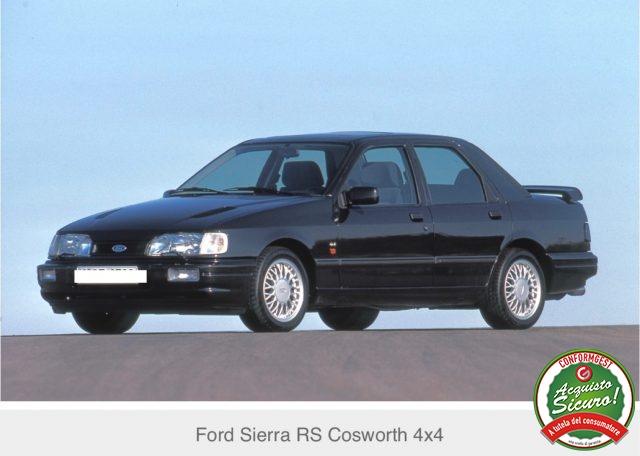 Immagine di FORD Sierra Cosworth 4×4 215 cv integrale testa verde
