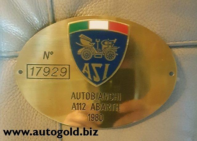 Immagine di AUTOBIANCHI A 112 Abarth  ( permute)