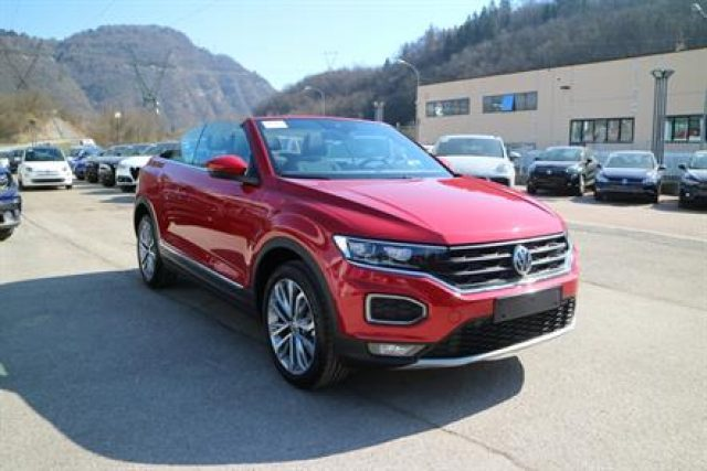 VOLKSWAGEN T-Roc Cabriolet 1.5 TSI ACT DSG Style-FULL LED-VIRTUAL!