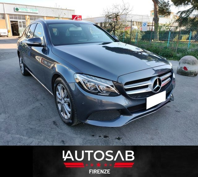 MERCEDES-BENZ C 220 d S.W. Automatic Exclusive Navi Pelle