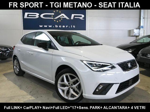 SEAT Ibiza 1.0 TGI 5p. FR LED+ quot;17+Navi+Alcant./Pelle+4 vetri