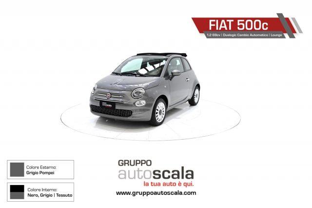 FIAT 500C 1.2 69cv Dualogic C. Aut. Lounge