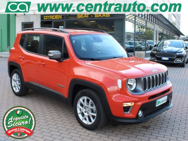 JEEP Renegade Orange pastello