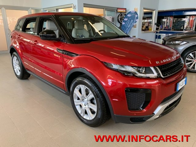 LAND ROVER Range Rover Evoque Firenze Red  metallizzato