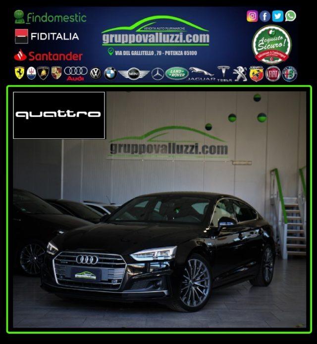 AUDI A5 SPB 2.0TDI 190CV quattro S LINE ACC MATRIX VIRTUAL