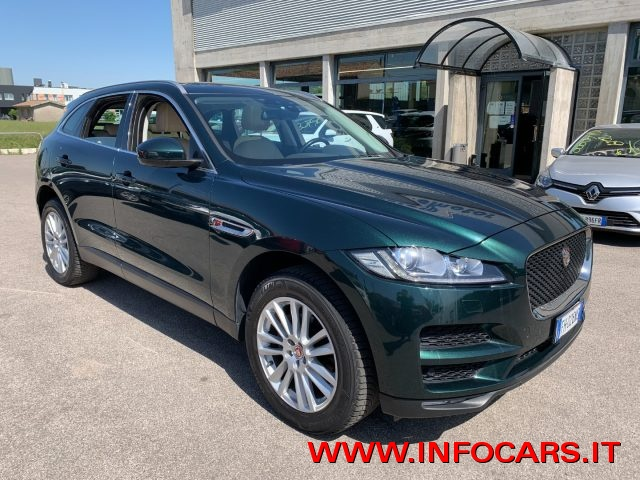 JAGUAR F-Pace BRITISH RACING GREEN metallizzato