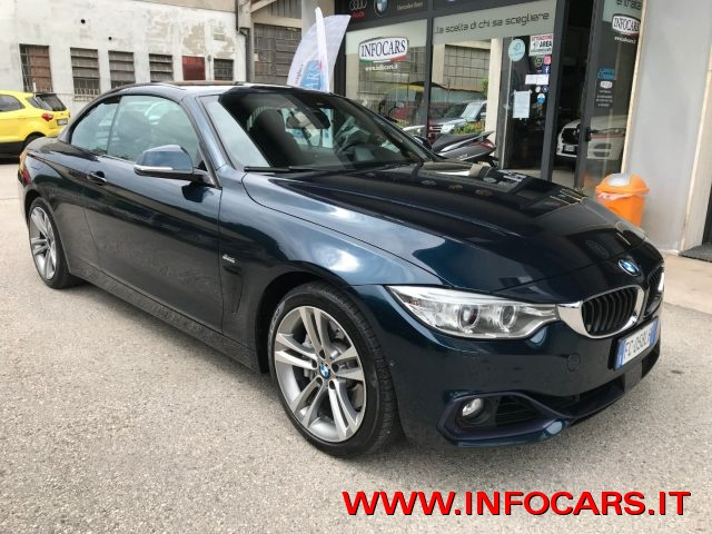 BMW 435 MIDNIGHT BLUE metallizzato