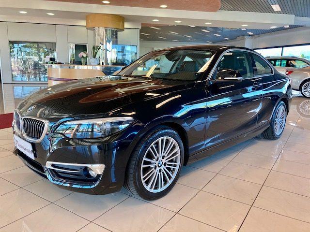 BMW 218 d Coupé Luxury aut. Navig, Pelle, Led Full Optiona