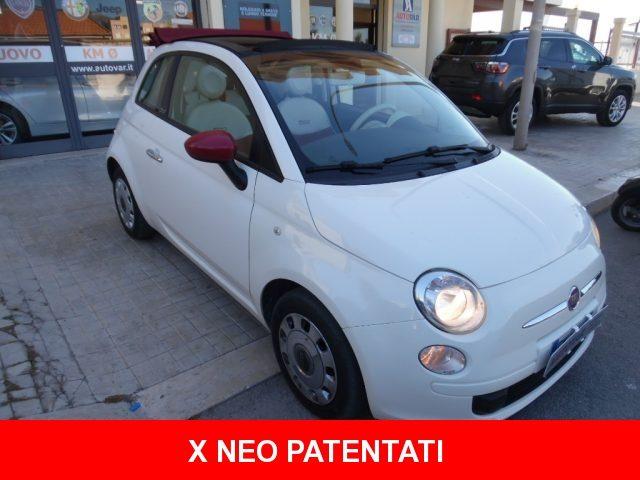 FIAT 500 1.2 Pop Star CABRIO Usato