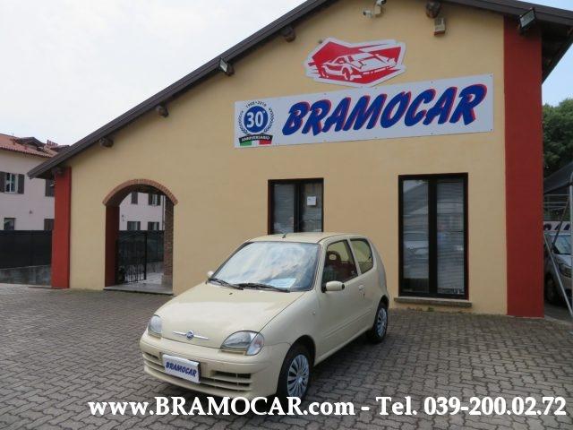 FIAT Seicento 1.1 BEIGE - KM 85.546 - CLIMA - SERVO - x NEOPATAT