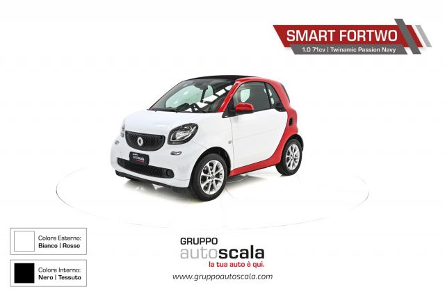 SMART ForTwo 1.0 71 CV Twinamic Passion Navy