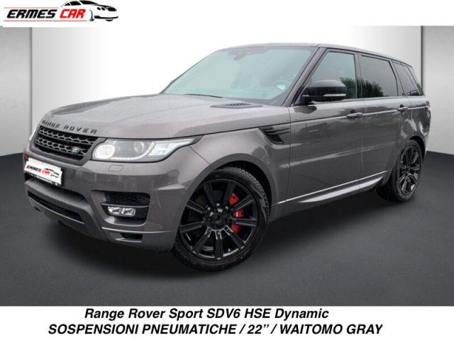 LAND ROVER Range Rover Sport 3.0 SDV6 HSE Dynamic VIRTUAL-PELLE ROSSA