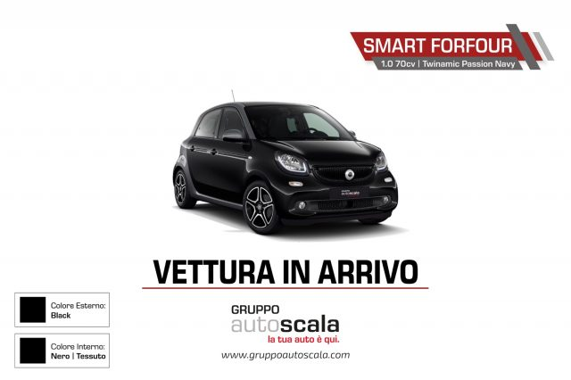 SMART ForFour 70 1.0 Twinamic Passion Navy