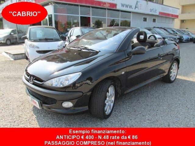 PEUGEOT 206 1.6 16v CC - Coupè/Cabrio - UNICA PROPRIETARIA