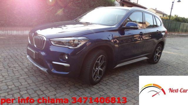BMW X1 sDrive18d xLine unico prop. pacch. manut. bmw