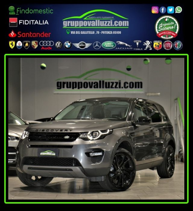 LAND ROVER Discovery Sport 2.0 TD4 180 CV HSE Luxury Usato