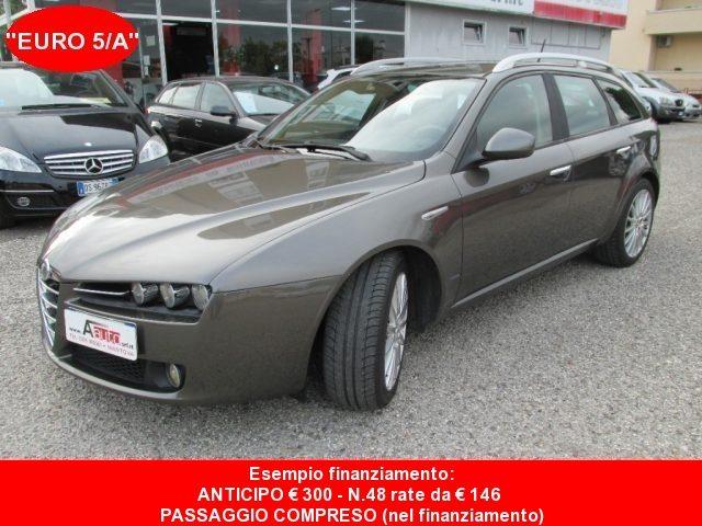 ALFA ROMEO 159 2.0 JTDm 170cv Sportwagon -Km Certificati- EURO 5A