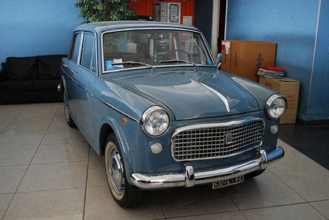 FIAT Barchetta FIAT 1100 SPECIAL G103 H103 1962