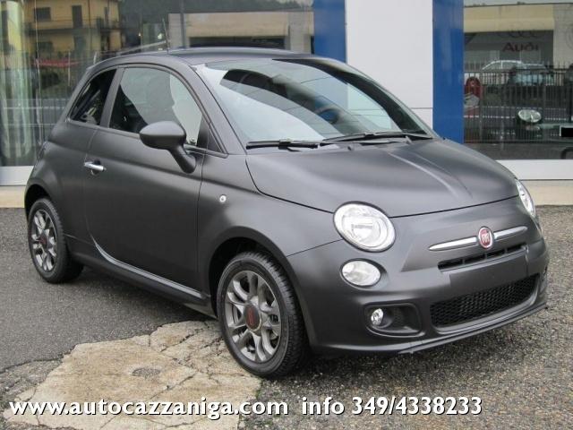 Auto Nuova Fiat 500 1 2 S Nuovo Colore Nero Opaco In Pronta Consegna