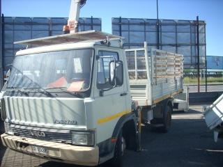 IVECO LKW/TRUCKS 60  11 Con GRU E SOVRASPONDE GRIGLIATE Usata