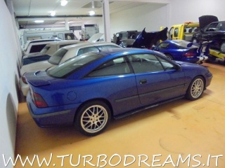 OPEL Calibra 2.5i V6 24V CAT FULL OPT. PELLE - TETTO - CLIMA !! Usata