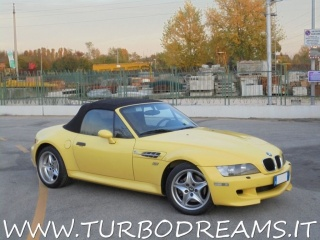 BMW Z3 3.2 24V Cat M ROADSTER DAKAR GELB ORIGINAL PAINT ! Usata