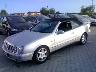 MERCEDES-BENZ CLK 230 Kompressor Cat Cabrio Avantgarde Usata