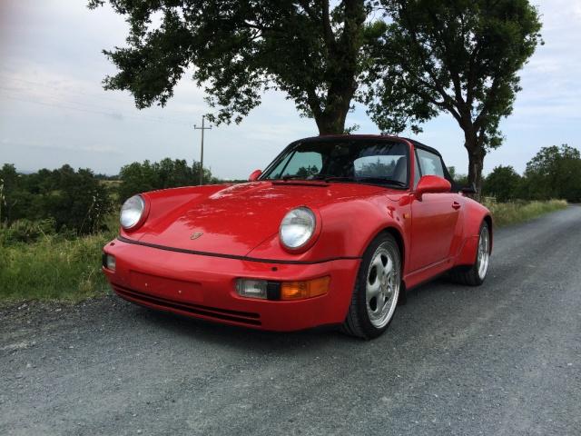 Porsche d'poca 3.3 Turbo Cabriolet a benzina Rif. 11769980