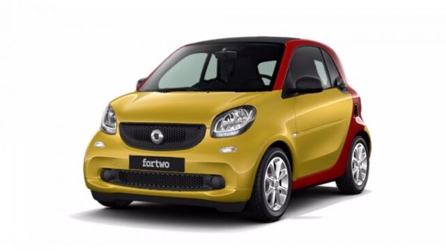 Smart Fortwo km 0 70 1.0 twinamic Passion a benzina Rif. 9748393