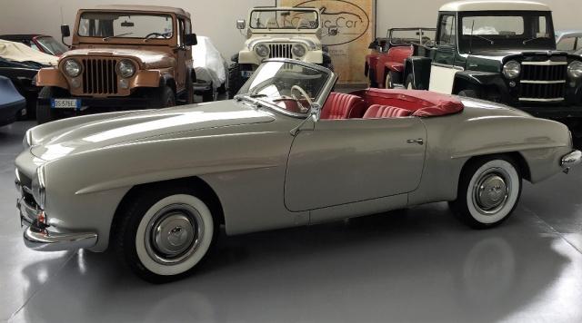 MERCEDES-BENZ 190 SL ROADSTER 1955 (produzione n°55)