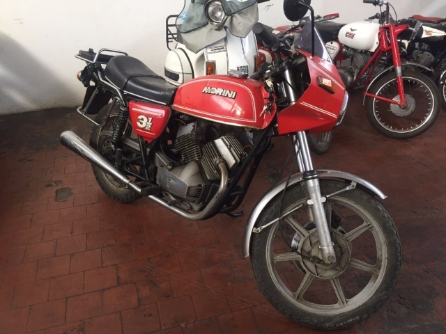 Moto Morini 350 X usata 3 1/2 a benzina Rif. 10926954