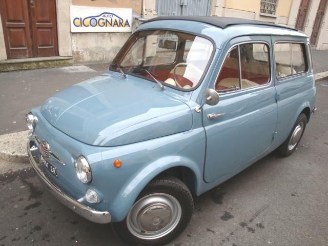 Fiat 500 usata giardiniera  **  WhatsApp  3939578915  ** a benzina Rif. 10599468