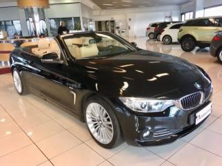 BMW 420 D Cabrio Luxury GARANZIA TOTALE 12 MESI Usata