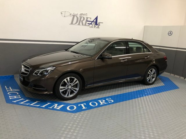 MERCEDES-BENZ E 400 Marrone metallizzato