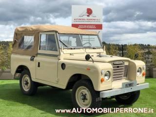 LAND ROVER Series III 88 Diesel ASI Autocarro Interamente Restaurato Usata