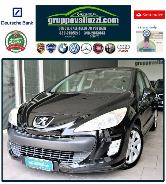 Peugeot 308 usata 1.6 HDi 110CV 5p. automatica diesel Rif. 6885983