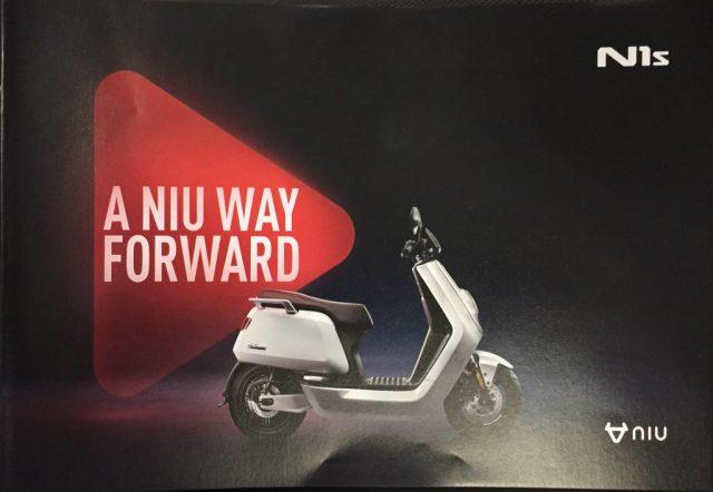 Niu N1s nuova SCOOTER ELETTRICO NOVITA' elettrica Rif. 9833083